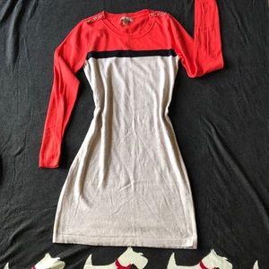 Banana Republic colorblock sweater dress